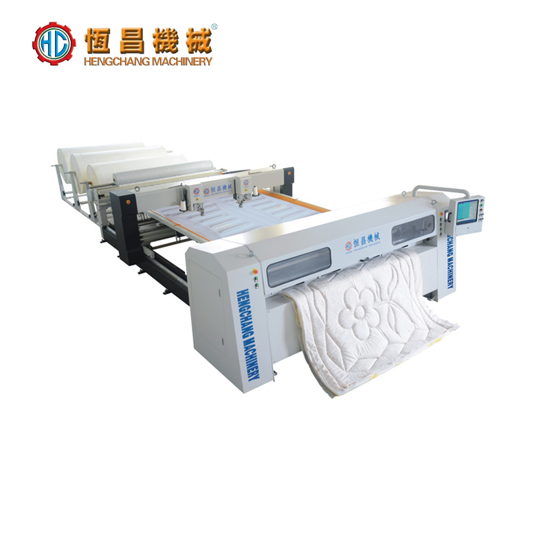 HC-D3000 (the latest patented product) automatic high-speed double quilting machine